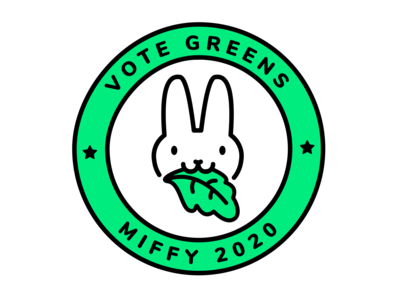 Vote for Miffy   Dribbble Weekly Warm-up #7