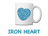 Iron Heart Mug