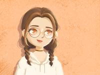 Daily work - Girl's portrait 4
