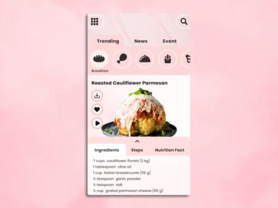 Food App Main Page