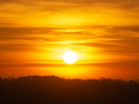 Hello the sun