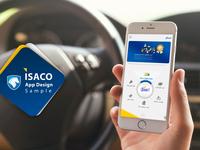 Isaco App Design Sample 1