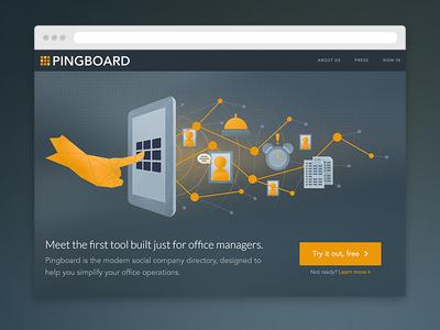 Pingboard Website