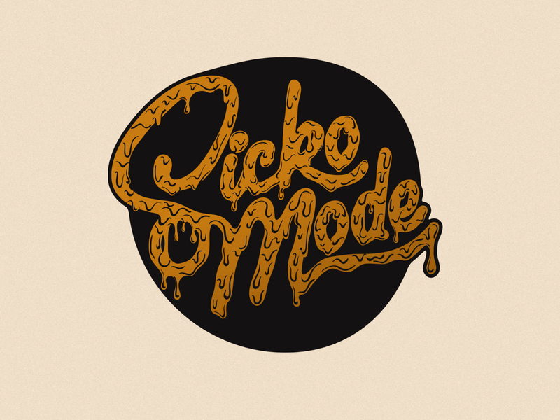 Sicko Mode hand done type hand-done type design hand-lettering illustration handdone type typography handlettering lettering
