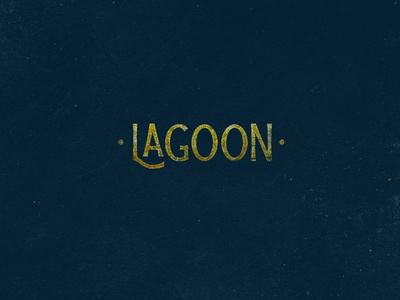 Blue Lagoon typography hand-lettering lettering handlettering