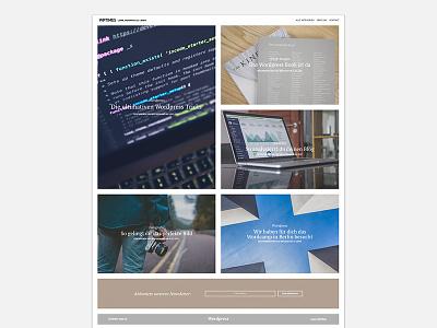 WPTIMES - New Magazine Layout boxed box clear flat publishing online website wordpress web layout magazine blog