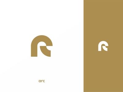 Simple arc logo