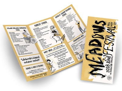Meadows Festival Posters and programs