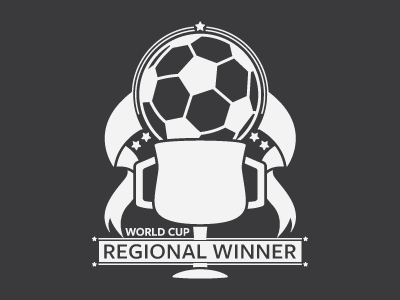 Soccer Emblem illustration emblem soccer trophy ribbon winner world cup sports