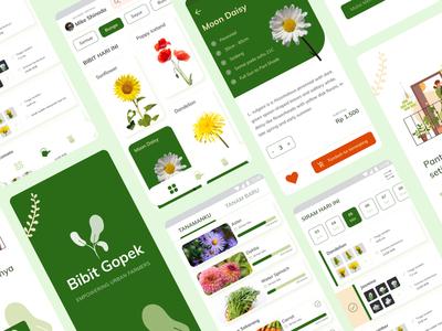 Plant E-Commerce and Gardening Management online shop ecommerce flower gardening plant