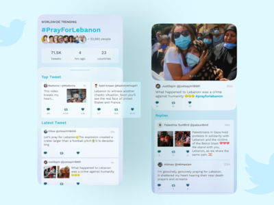 Twitter Redesign Concept social media concept hashtags redesign twitter