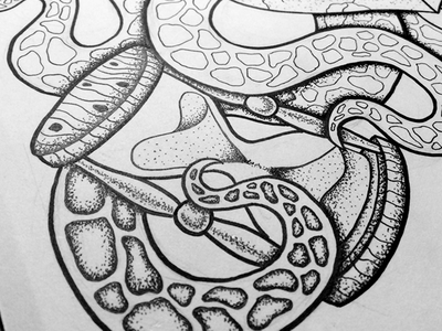 Undertow  illustration drawing art nautical stippling sketch design squid hourglass kraken