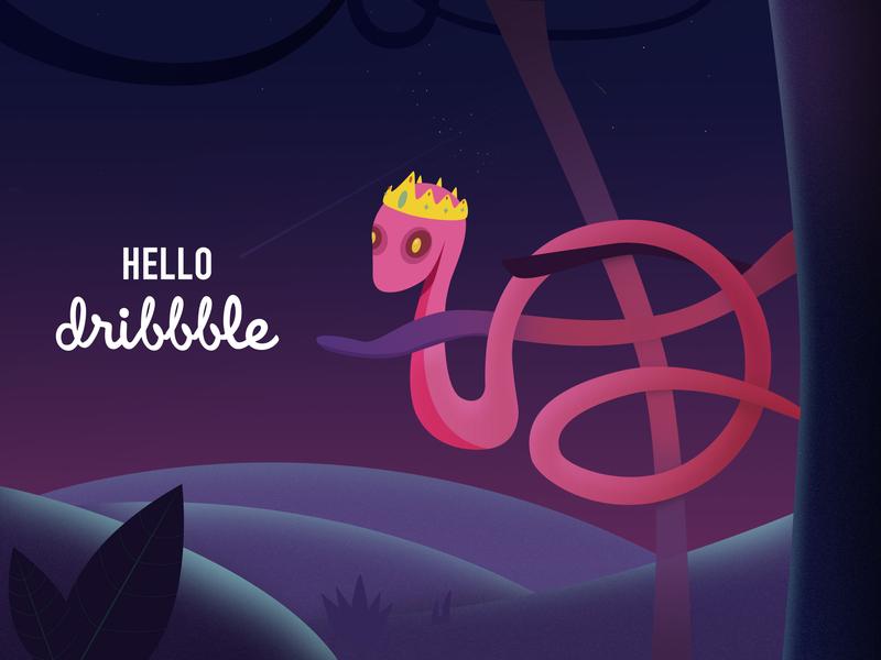 Hello dribbble! 插图