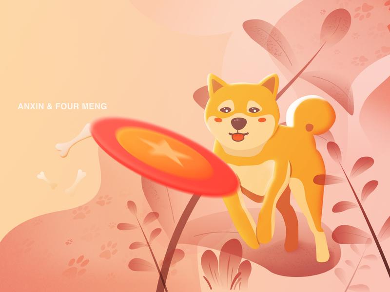 Anxin shiba inu dog 插图