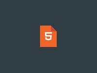 HTML icon freebie