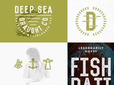 DSDCo brand beer label ocean deep springfield mo