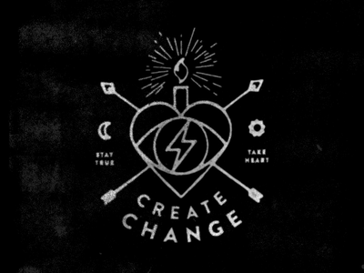 CC Shirts take heart create change springfield missouri shirt design illustration