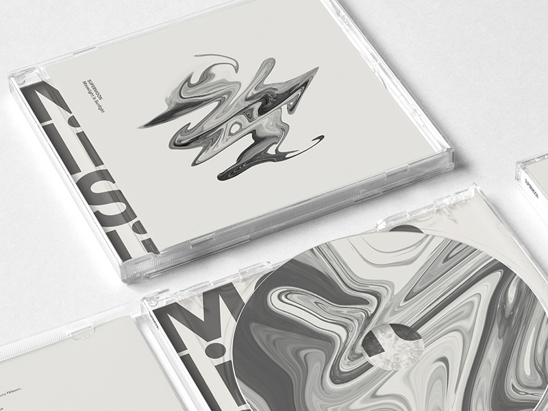 08032015 typography design layout cd texas austin band supermoon art album