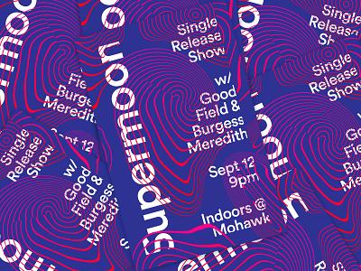 09062016 flier poster design music rock mohawk texas austin release single supermoon