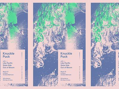 12132015 knuckle puck emo rock design flier gig show band