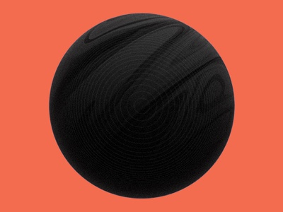 12252015 supermoon poster render ball wave object 3d