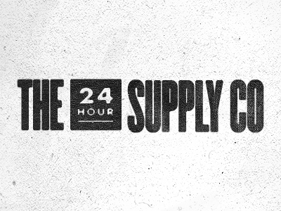 41 poster gig show design visual typography logo supply company 24 hours