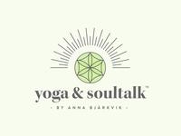 Yoga & Soultalk by Anna Bjärkvik | Logo