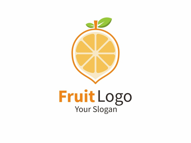 lemon logo concept