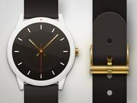 Gold x White x Watch