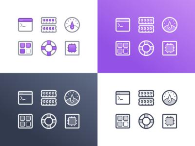 Mesosphere Iconset Redux stroke two-tone dashboard mesosphere cpu iconset lines thin icons