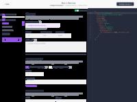 Run service  json editor