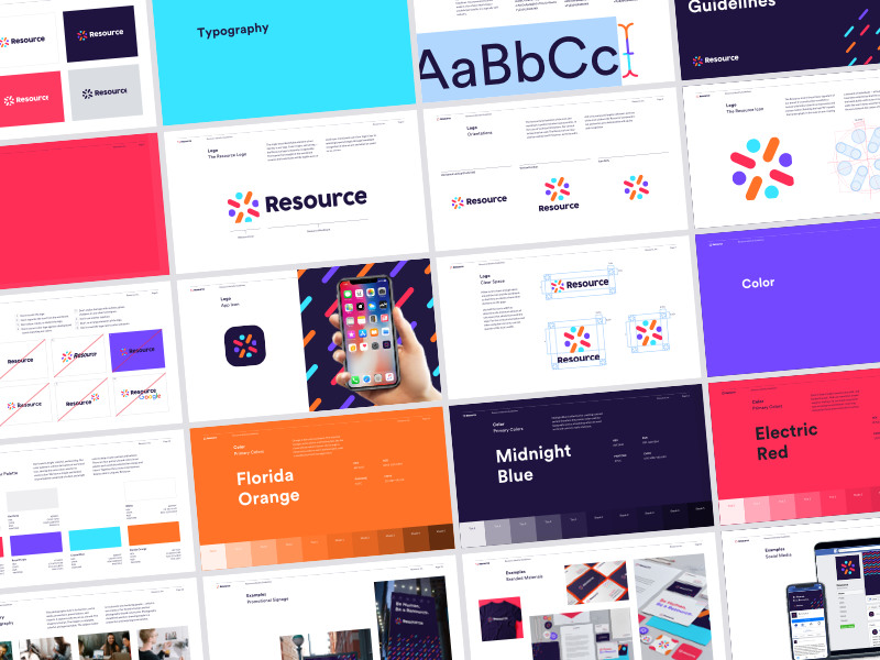 Dribbble resource identity guidelines