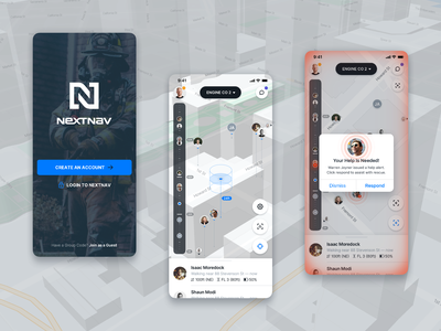 NextNav Mobile Incident Response Management mobile map geospatial groups mapping 3d altitude tracking teams incident response ios android