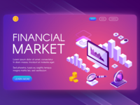 Financial illustration
