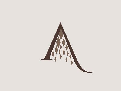 salabka visual identity corporate identity logotype logomark creative logo ci brand identity identity branding brand logo icon symbol letter a a winery diamonds diamond wine