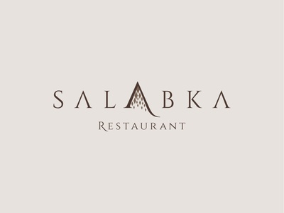 salabka family diamonds diamond creative logo logomark logotype logo branding brand ci alcohol hotel apartments wine michelin cuisine food distillery apartment winery restaurant