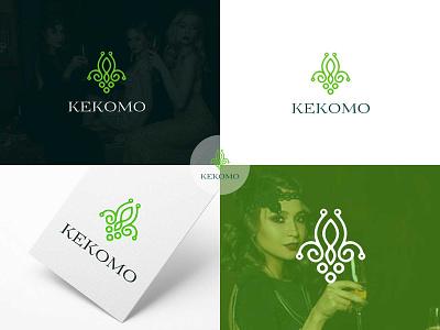 kekomo modern minimalist luxury logo design illustration graphic  design design logo design logodesign creative  design brand and identity logo brand