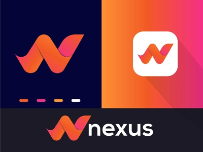 Nexus Logo Design-N Modern Logo- Logo Branding Design illustration design logo design logodesign graphic  design creative  design brand and identity logo brand
