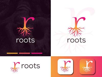 Roots logo  brand design design illustration logo design logodesign graphic  design creative  design brand and identity logo brand
