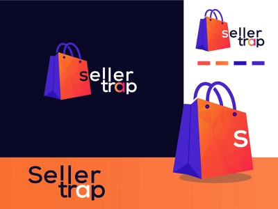Seller trap online shop logo design illustration design logo design logodesign graphic  design creative  design brand and identity logo brand