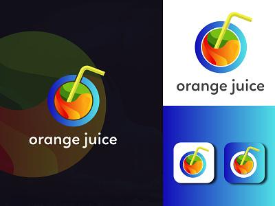 Orange Juice logo A job done for my old client design illustration logo design logodesign graphic  design creative  design brand and identity logo brand