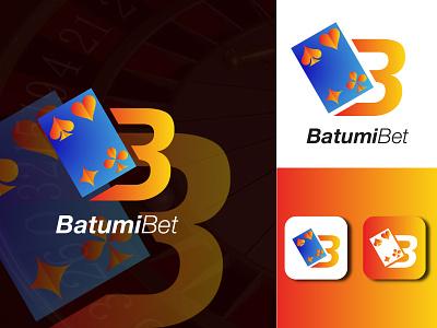 Batumibet logo for casino logo illustration design logo design logodesign graphic  design creative  design brand and identity logo brand