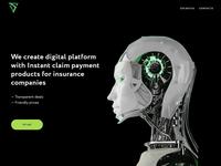 Digital platform landing page