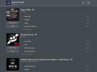 Fndrr - Album List