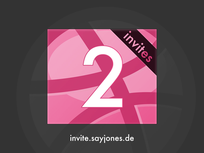 2 Dribbble Invite Giveaway, Part III