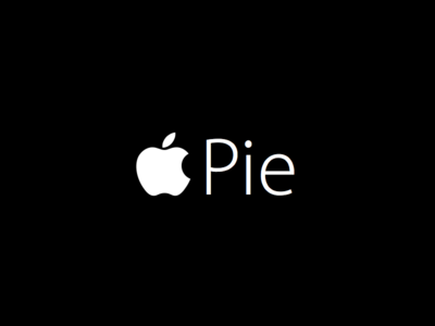 And we call it: Apple Pie apple pay pie keynote tim cook