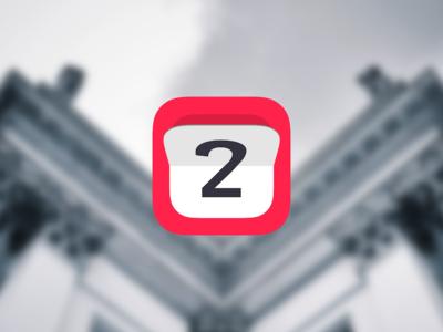 My first iOS App ios icon flat clock flip app 2 tranform red