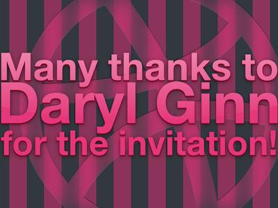 Thx to Daryl Ginn invite dribbble