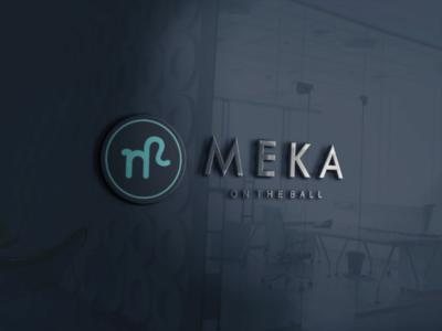 Meka Media Creative Mockup Logo