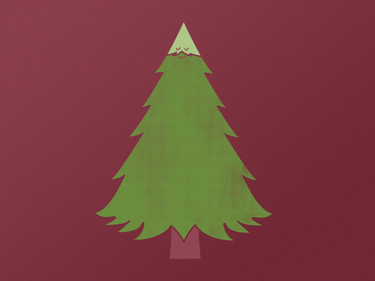 Treebeard for sale moustache beard tree nature character design digital drawing illustration